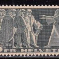 Sellos: SUIZA , 1938 YVERT Nº 313 A / 315 A / ** / . Lote 105937187
