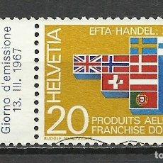 Timbres: SUIZA - 1967 - MICHEL 852 - USADO. Lote 110894963