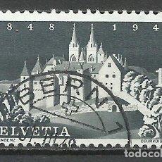 Sellos: SUIZA - 1948 - MICHEL 497 - USADO. Lote 110897951