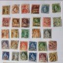 Sellos: LOTE DE 32 SELLOS DE SUIZA HELVETIA, USADOS AÑOS 1904 A 1920. Lote 113230455