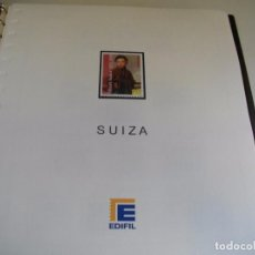 Sellos: SUIZA SELLOS DEL AÑO 2010 Y 2011 NUEVOS MONTADOS EN SUPLEMENTO EDIFIL LOS DE LAS FOTOS. Lote 114786903
