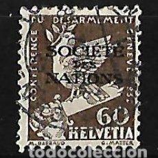 Sellos: SUIZA 1932 SERVICIO SELLO DE 1932 CON SOBRECARGA . Lote 115231675