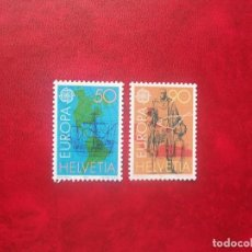 Sellos: SUIZA 1992, YVERT 1393-94, MNH-SC. Lote 115353319