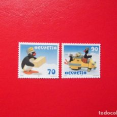 Sellos: SUIZA 1999, YVERT 1635-36, MNH-SC. Lote 115353379