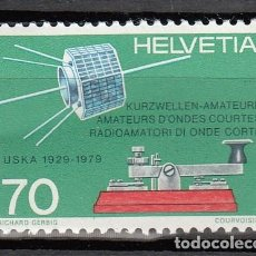 Sellos: SUIZA 1979 - RADIO AMATEURS - YVERT Nº 1094. Lote 115504919
