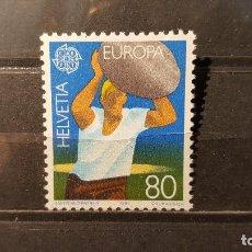 Sellos: SELLO NUEVO SUIZA 1981. EUROPA 1981. DEPORTE TRADICIONAL.. 4 DE MAYO. YVERT 1127.. Lote 116636031