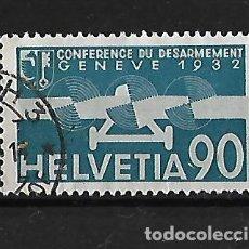 Sellos: SUIZA 1932 CORREO AEREO CONFERENCIA DE DESARME. Lote 118182207