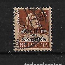 Sellos: SUIZA. 1924-27. SERVICIO SELLO DE 1924-30 CON SOBRECARGA. Lote 118182283