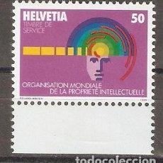 Sellos: SUIZA. 1985. SERVICIO. YV 463. Lote 123051659