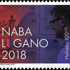 Sellos: SELLO NUEVO DE SUIZA DE 2018. Lote 126202787