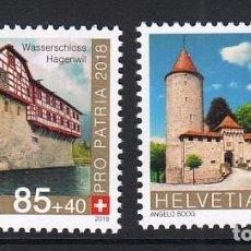 Stamps - SUIZA 2018 PRO-PATRIA - CASTILLOS Y FORTALEZAS - 127175435