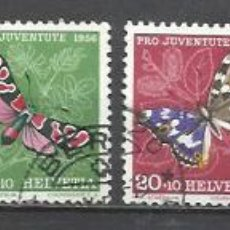 Sellos: Q500F-SERIE COMPLETA SUIZA HELVETIA PRO JUVENTUTE 1956 Nº581/5.VALOR 11,00€ YVERT ENVIOS COMBINADOS . Lote 136049094