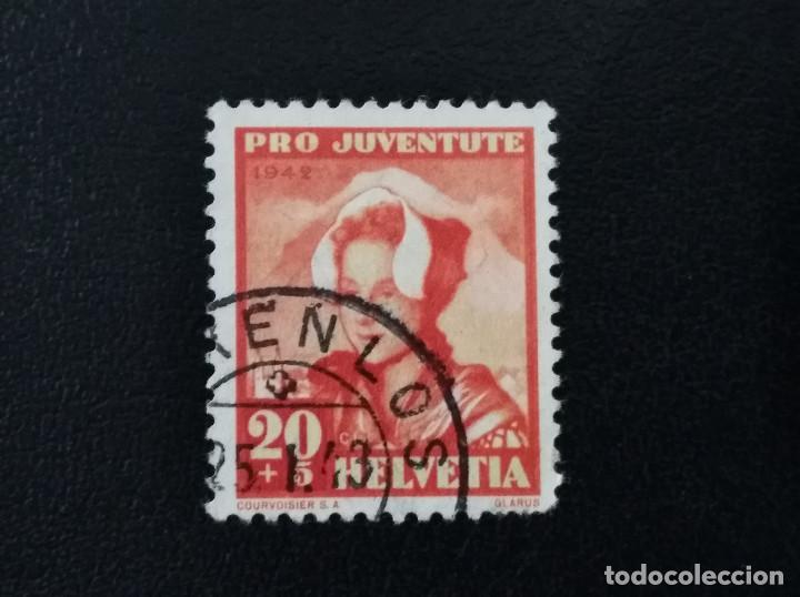 SUIZA , 1942 , YVERT 382 (Sellos - Extranjero - Europa - Suiza)