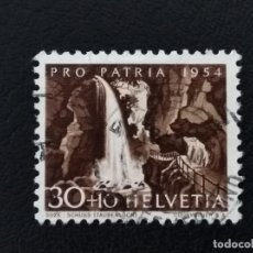 Sellos: SUIZA , 1954 , YVERT 551. Lote 136355462
