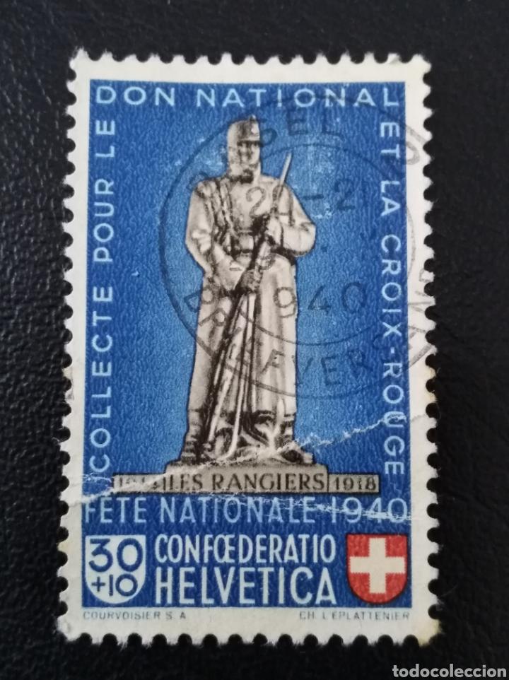 SUIZA, 1940, YVERT 353 (Sellos - Extranjero - Europa - Suiza)