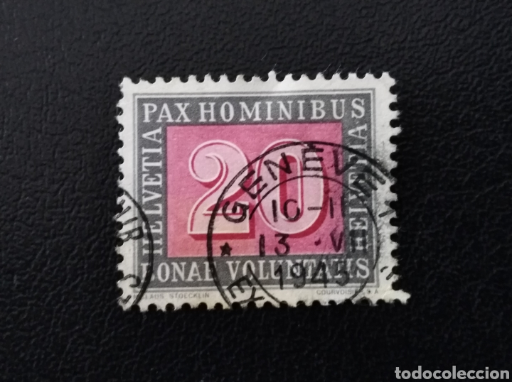 SUIZA, 1945, YVERT 407 (Sellos - Extranjero - Europa - Suiza)