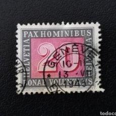 Sellos: SUIZA, 1945, YVERT 407. Lote 137623641