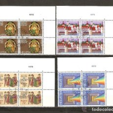Sellos: SUIZA.1978. YT. 1046 A 1049. Lote 139635194