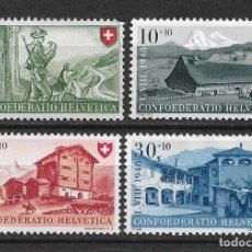 Timbres: SUIZA 1948 MICHEL 508/511 ** MNH - 1/29. Lote 143745098