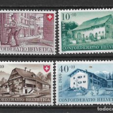Sellos: SUIZA 1949 MICHEL 525/528 ** MNH - 1/29. Lote 143745166