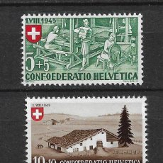 Sellos: SUIZA 1945 MICHEL 460/462 ** MNH - 1/29. Lote 143745422