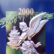 Sellos: SUIZA - 2000 FELIZ NAVIDAD CON UN BLOQUE DE 4 SELLOS EN FOLLETO. Lote 146021238