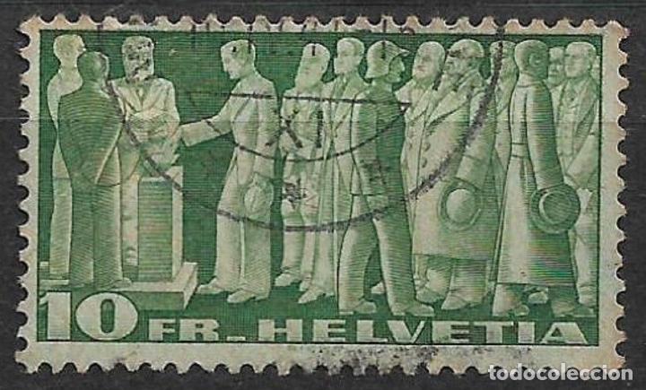 SUIZA 1938 SC# 246 USADO - 8/26 (Sellos - Extranjero - Europa - Suiza)