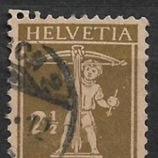 Sellos: SUIZA 1928 SC# 155 USED - 8/26. Lote 146760630