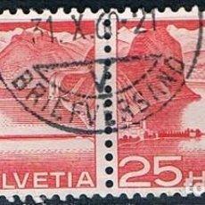 Sellos: SELLO SUIZA USADO 1949 YVES 486 DOBLE. Lote 149892786
