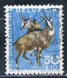 SUIZA SELLO USADO 1966 YVES 782 (Sellos - Extranjero - Europa - Suiza)