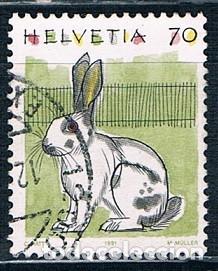 SUIZA SELLO USADO 1995 YVES 1364A (Sellos - Extranjero - Europa - Suiza)