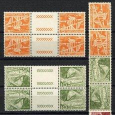 Sellos: SUIZA, SELLO, LANSCAPES, TETE BECHE, COMBINACIONES, HELVETIA, 1949, SUISSE STAMP. Lote 151666102