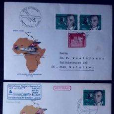Stamps - Sobres de Suiza 1977, Pioneros de la Aviación Suiza - 160431236