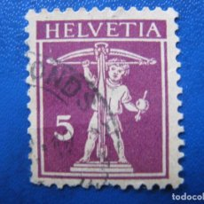 Sellos: SUIZA, 1924 YVERT 198. Lote 161759562