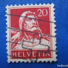 Sellos: SUIZA, 1924 GUILLERMO TELL, YVERT 203. Lote 161759918