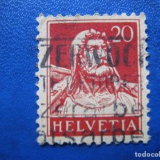 Sellos: SUIZA, 1924 GUILLERMO TELL, YVERT 203. Lote 161760022