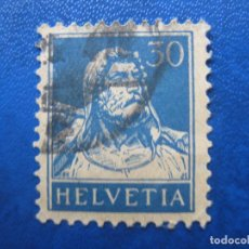 Sellos: SUIZA, 1924 GUILLERMO TELL, YVERT 205. Lote 161760186