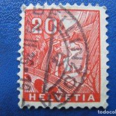 Sellos: SUIZA, 1934 YVERT 275. Lote 161770134