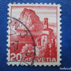 Sellos: SUIZA, 1938 YVERT 312. Lote 161771618