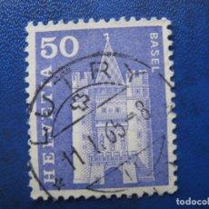 Sellos: SUIZA, 1960 YVERT 651. Lote 161815766