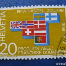 Sellos: SUIZA, 1967 YVERT 785. Lote 161886314