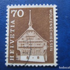 Sellos: SUIZA, 1967 YVERT 795. Lote 161886998