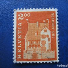Sellos: SUIZA, 1967 YVERT 796. Lote 161887282