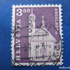 Sellos: SUIZA, 1967 YVERT 798. Lote 161887698