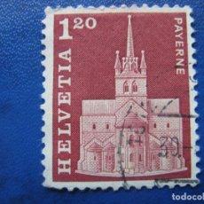 Sellos: SUIZA, 1968 YVERT 822. Lote 161894614