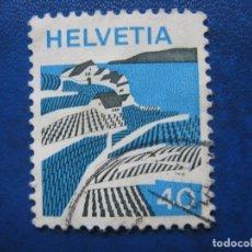 Sellos: SUIZA, 1973 YVERT 938. Lote 161931762