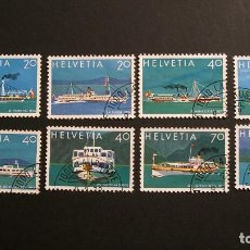 Stamps - SUIZA-1979-Y&T 1050/7 /º/-A 10% - 162526277