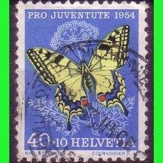 Sellos: SUIZA 1954 PARA LA JUVENTUD, YVERT Nº 557 (O) . Lote 165120930