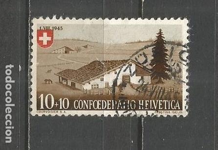 SUIZA YVERT NUM. 420 USADO (Sellos - Extranjero - Europa - Suiza)