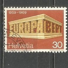 Timbres: SUIZA YVERT NUM. 832 USADO. Lote 165480970